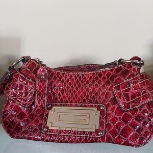 Guess Faux Snakeskin Purse